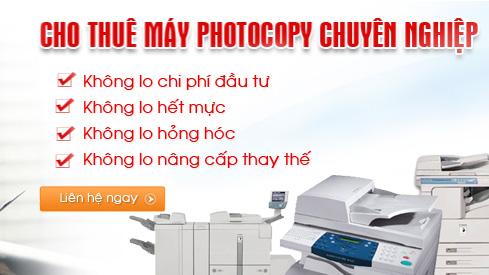 Cho thuê máy Photocopy Bình Dương